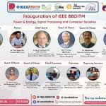 INAUGRATION OF IEEE BBDITM PES, SPS and CS Societies